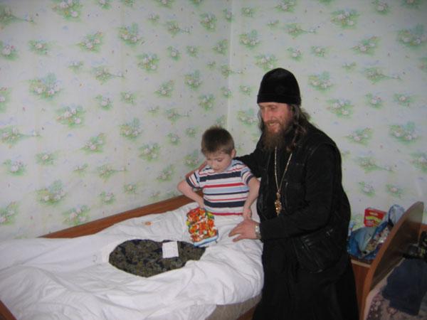 Посещение Днепропетровского детского дома-интерната для детей, больных ДЦП