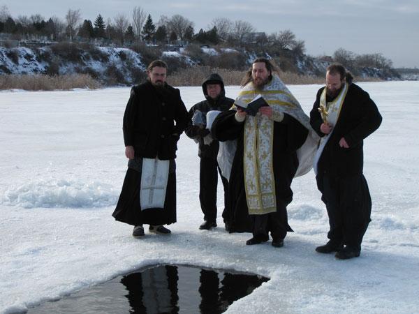 Освящение вод Самары