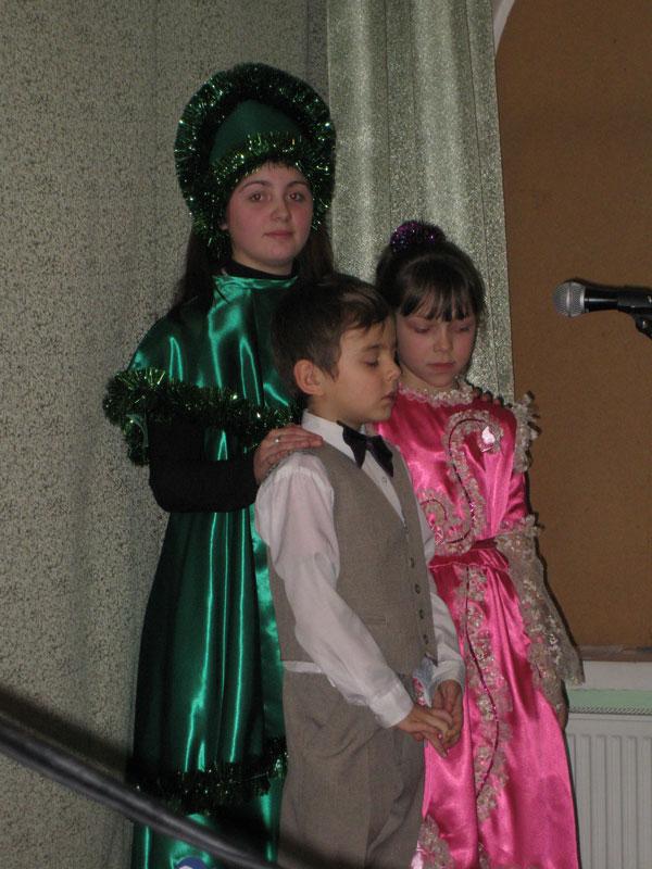 Ёлочка и дети (И.Бовсуновская, Д.Тугаев, Е.Сур)